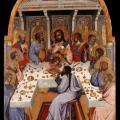 Agnolo Gaddi. La Cène (v. 1395)