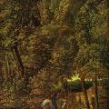 Albrecht Altdorfer. Saint Georges terrassant le dragon (1510)