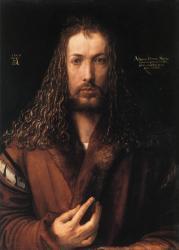 Albrecht Dürer. Autoportrait à 29 ans (1500)