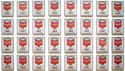 Andy Warhol. Campbell's Soup Cans (1962)