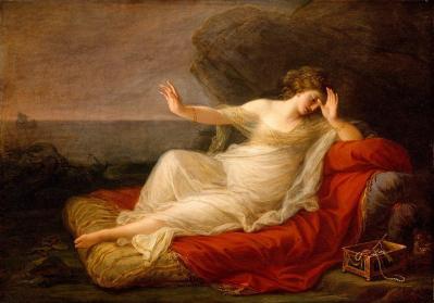 Angelica Kauffmann. Ariane abandonnée par Thésée (1774)