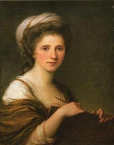 Angelica Kauffmann. Autoportrait (1784)