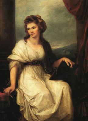 Angelica Kauffmann. Autoportrait (1787)