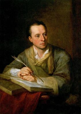 Angelica Kauffmann. Johann Joachim Winckelmann (1764)