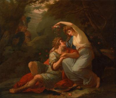 Angelica Kauffmann. Renaud et Armide (1771)