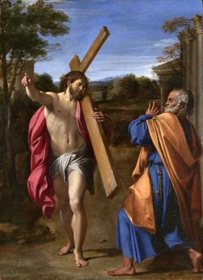 Annibale Carracci. Domine quo vadis ? (1601-02)