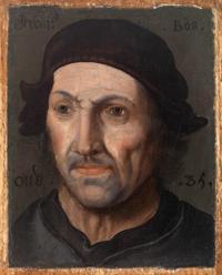Anonyme. Portrait de Jérôme Bosch (v. 1585)