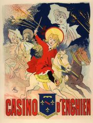 Chéret. Casino d'Enghien (1896)