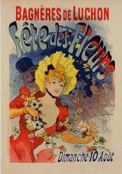 Chéret. Fête des fleurs (1890)