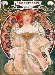 Mucha. Champenois imprimeur-éditeur (1897)