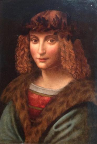 Artiste inconnu. Portrait de Salaï (1502-03)