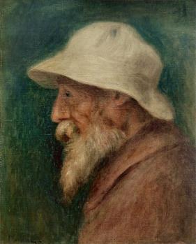 Auguste Renoir. Autoportrait (1910)
