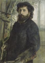 Auguste Renoir. Claude Monet (1875)
