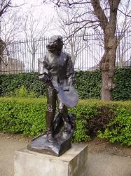 Claude Lorrain par Auguste Rodin (1892, Nancy)