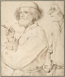 Autoportrait de Pieter Brueghel l'Ancien (1565)