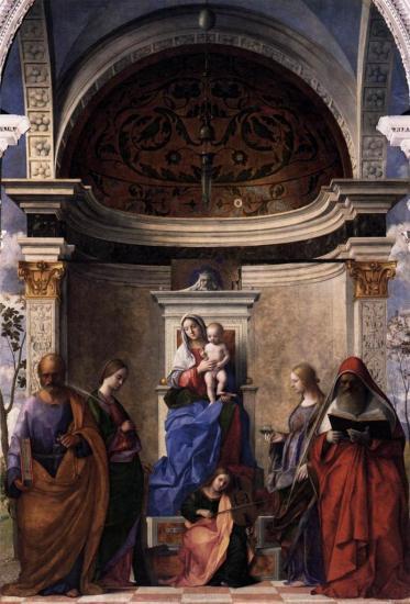 Bellini. Retable San Zaccaria (1505)