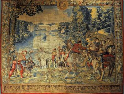 Bernard van Orley. Les chasses de Maximilien, septembre (1531-33)