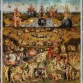 Bosch. Le jardin des délices, ouvert (v. 1500)