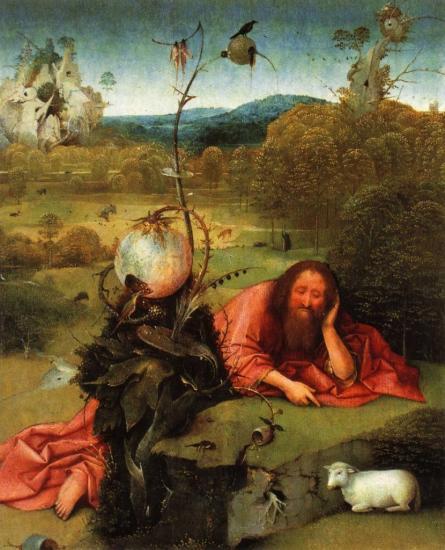 Bosch. Saint Jean-Baptiste dans le désert (1504-05)