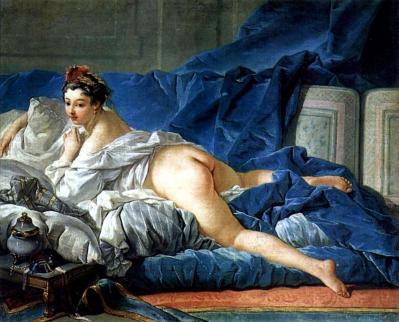 Boucher. L'Odalisque brune, 1749
