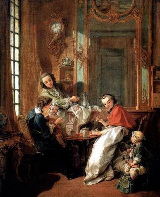 Boucher. Le Déjeuner, 1739