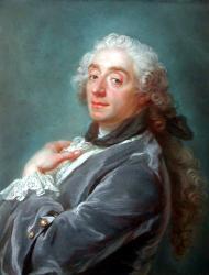 Portrait de François Boucher par Gustav Lundberg (1741)