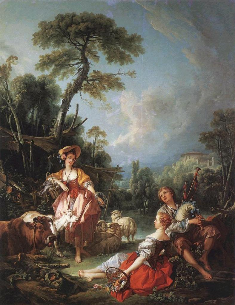 Histoire De La Peinture De Paysage Au 18e Siecle