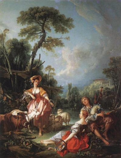 Boucher. Un Été pastoral,1749
