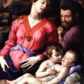 Bronzino. La Sainte Famille (v. 1540)