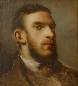 Camille Pissarro. Autoportrait (1857-58)