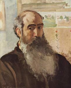 Camille Pissarro. Autoportrait (1873)