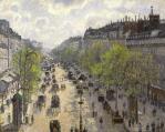 Camille Pissarro. Boulevard Montmartre, matinée de printemps (1897)