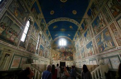 Cappella degli Scrovegni, intérieur