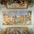 Carrache. Le Triomphe de Bacchus et d'Ariane (voûte du palais Farnèse, 1597-1602)