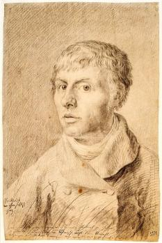 Caspar David Friedrich. Autoportrait (1800)