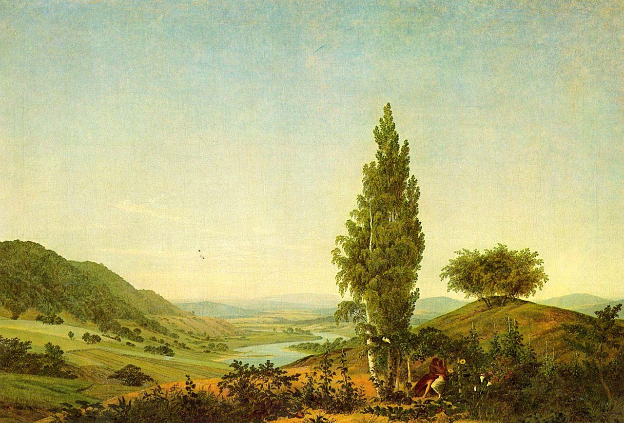 Ca s'est passé en septembre ! Caspar-david-friedrich-l-ete-1807