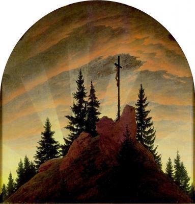 Caspar David Friedrich. Le retable de Tetschen (1807-08)