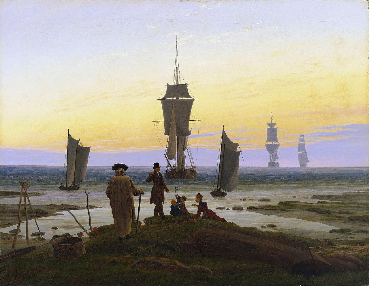 Ca s'est passé en septembre ! Caspar-david-friedrich-les-ages-de-la-vie-1834