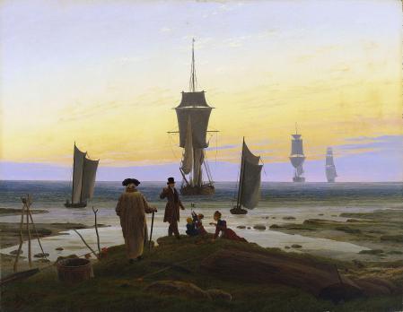Caspar David Friedrich. Les âges de la vie (1834)