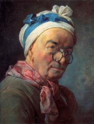 Chardin. Autoportrait (1771)