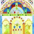 Charles Filiger. Architecture symboliste aux deux taureaux verts (1910-15)