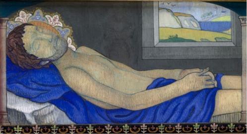 Charles Filiger. Christ au tombeau (1892-95)