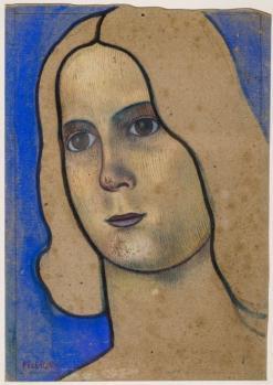 Charles Filiger. Tête d'adolescent (1890-92)
