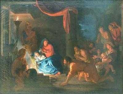 Charles Le Brun. L'Adoration des bergers 2 (1689)