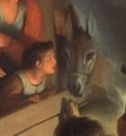 Charles Le Brun. L'Adoration des bergers, détail (1689)