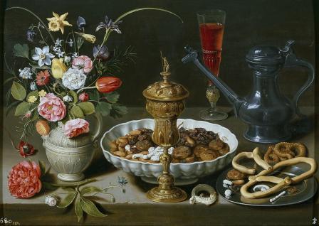 Clara Peeters. Nature morte aux fleurs (1611)