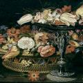 Clara Peeters. Nature morte florale (1607-1650)