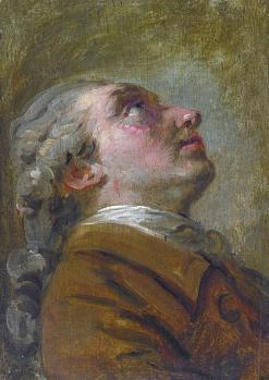 Claude-Joseph Vernet. Portrait de Simon Mathurin Lantara (avant 1757)