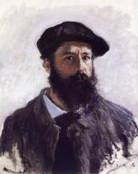 Claude Monet. Autoportrait (1886)