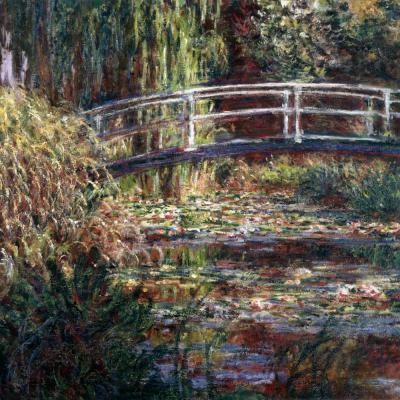 Claude Monet. Bassins aux nymphéas, harmonie rose (1900)